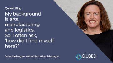 I am a member of the Qubed Advisory team
