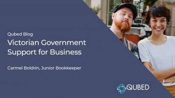 Victorian Government Support for Business